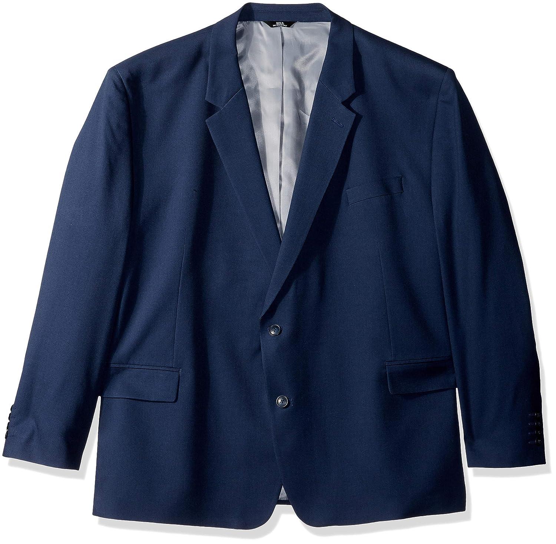 Haggar Mens Tall B/&t Solid Gab Stretch Classic Fit Suit Separate Coat
