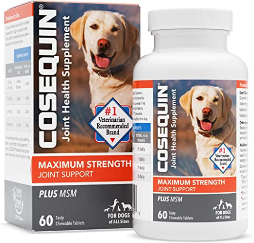 Cosequin Maximum Strength Joint Supplement Plus MSM - With Glucosamine...