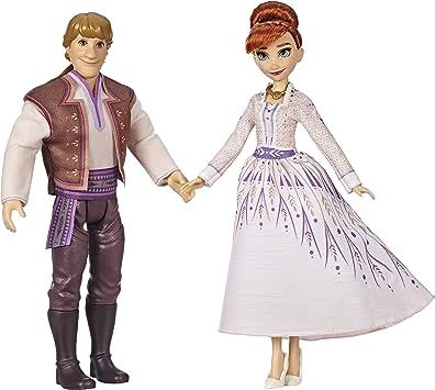 Disney La Reine des Neiges 2 Poupee Princesse Disney Romance entre Anna et Kristoff 29 cm