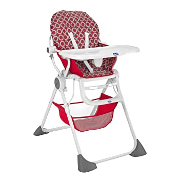 Delicieux Chicco Pocket Lunch High Chair   Red Wave