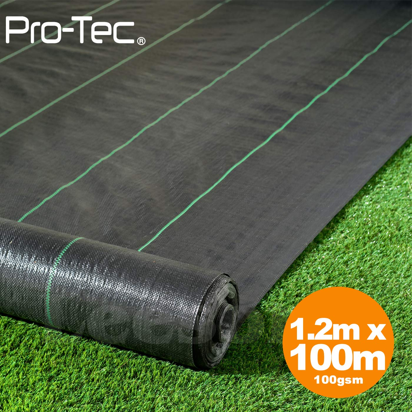 2M wide 10M//25M//100M 100gsm weed control fabric ground cover membrane