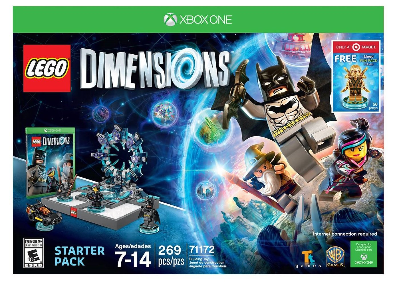 LEGO Dimensions Starter Pack with Lloyd Fun Pack - Xbox One by Warner Home Video - Games (Image #1)
