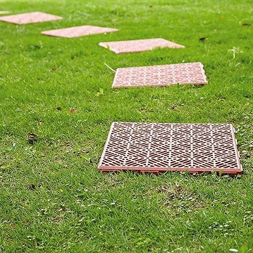 SmashingDealsDirect - Baldosas Antideslizantes para jardín o Patio: Amazon.es: Jardín