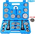 Ztech 22pcs Heavy Duty Disc Brake Caliper Tool Set and Wind Back Kit for Brake Pad Replacement