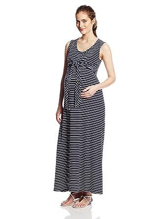 1a3ede5bfb1 JoJo Maman Bebe Women s Maternity Striped Maxi Dress