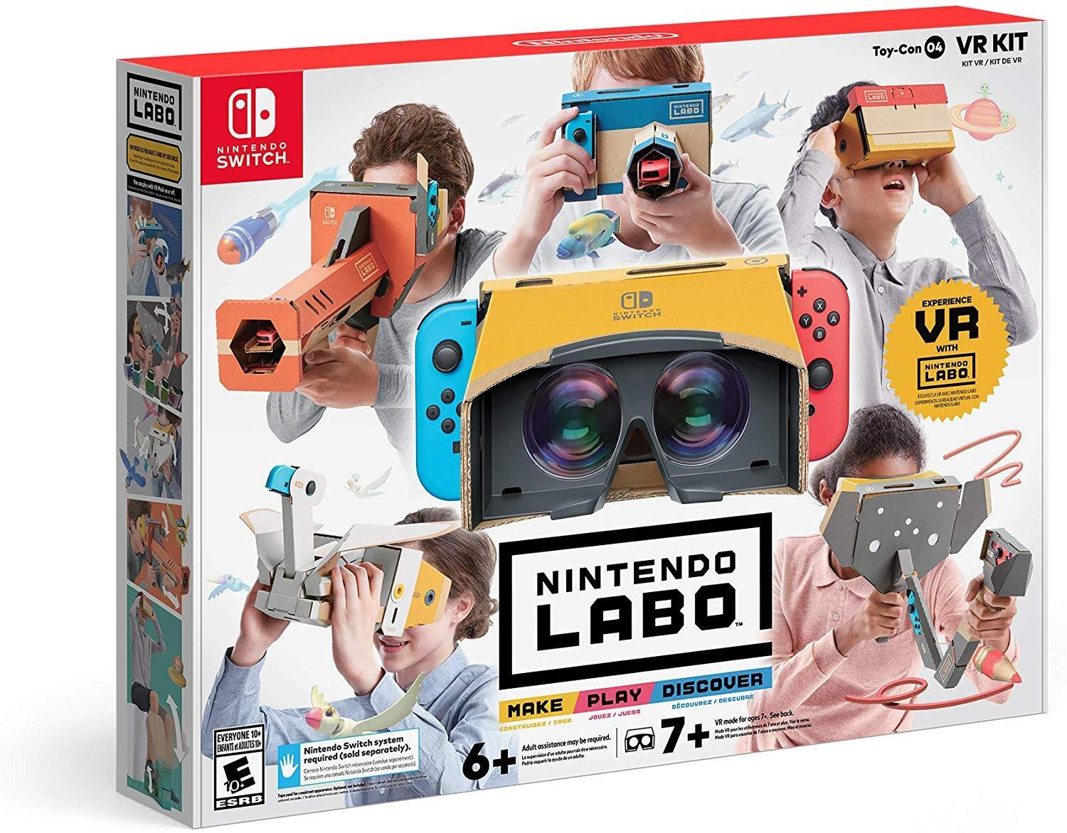 Nintendo Labo Toy-Con 04: VR Kit for Nintendo Switch USA: Amazon ...