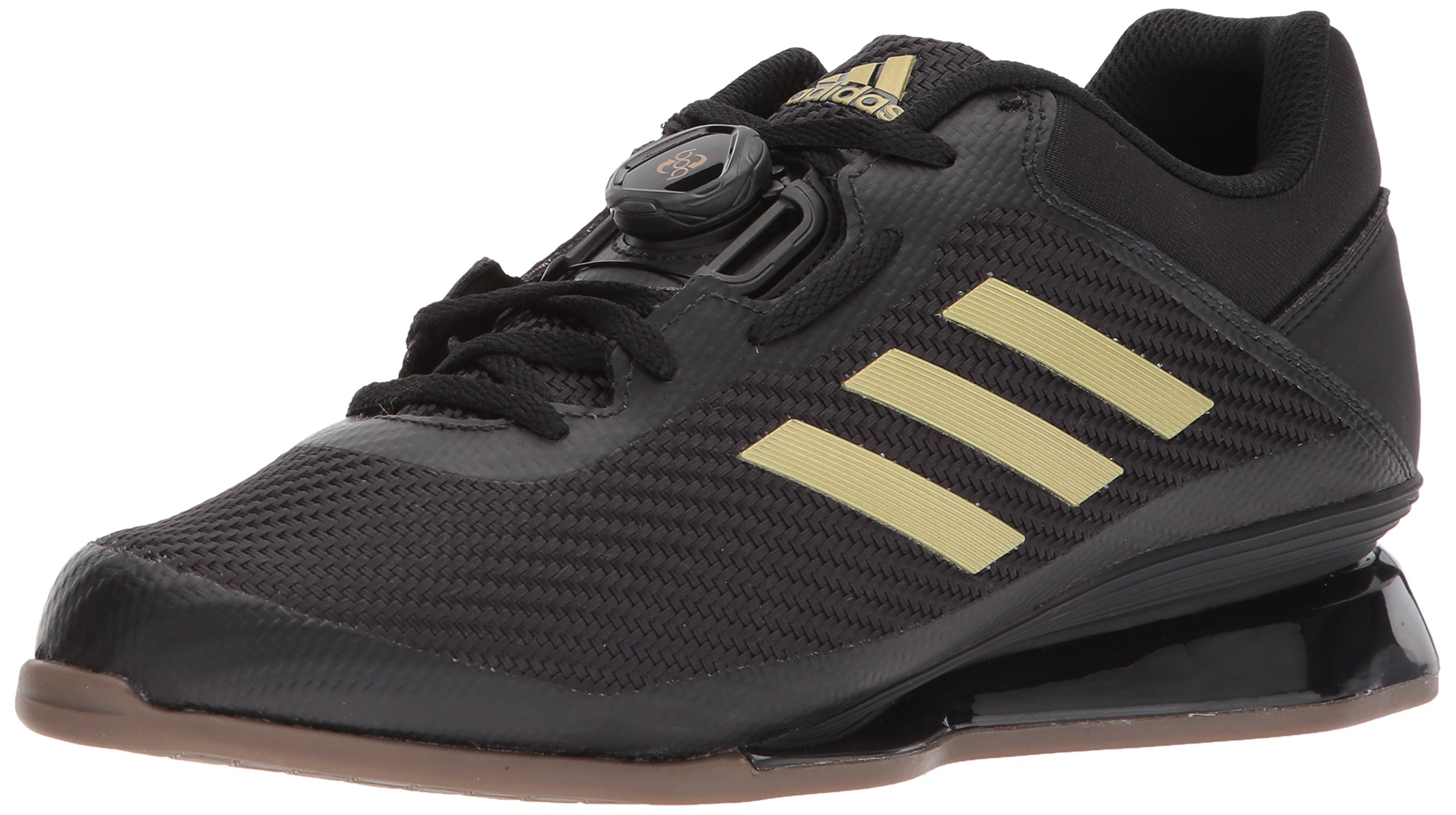 adidas Men's Leistung.16 II. Cross Trainer, Core Black/Matte Gold/Core Black, 5 M US by adidas