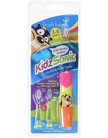 Cepillo de bebé - el color de cepillo de dientes eléctrico de Sonic Kidz hijos: