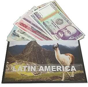 IMPACTO COLECCIONABLES Billetes del Mundo - Colección de Billetes - 12 Billetes Diferentes de Latinoamérica: Amazon.es: Juguetes y juegos