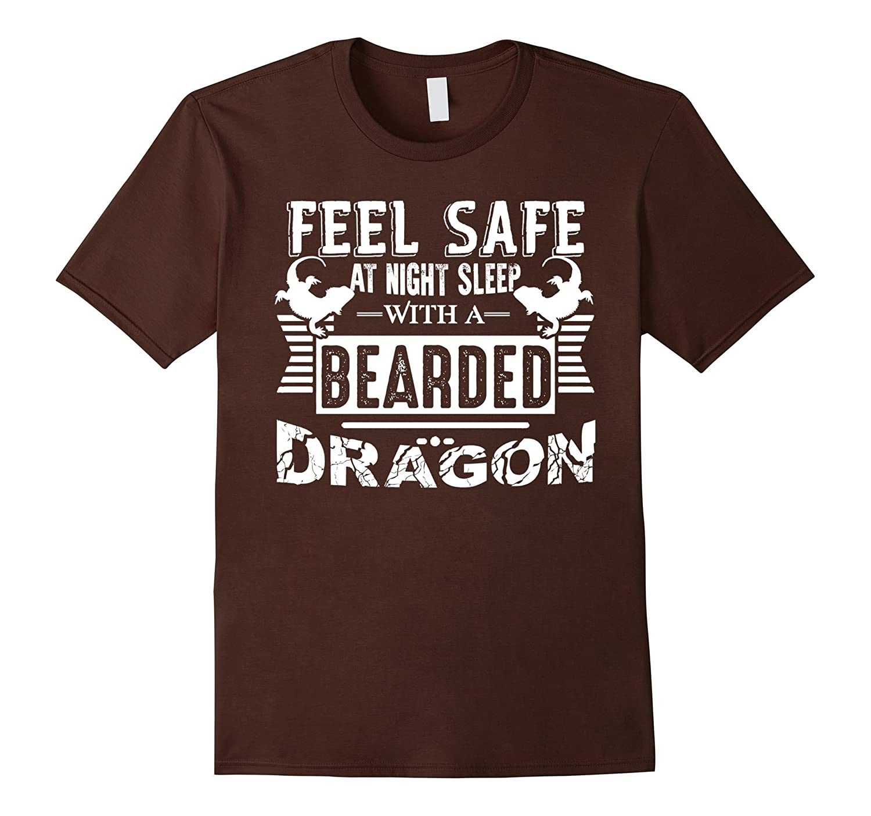 Bearded Dragon T shirt - Sleep With A Bearded Dragon Tshirt-TH