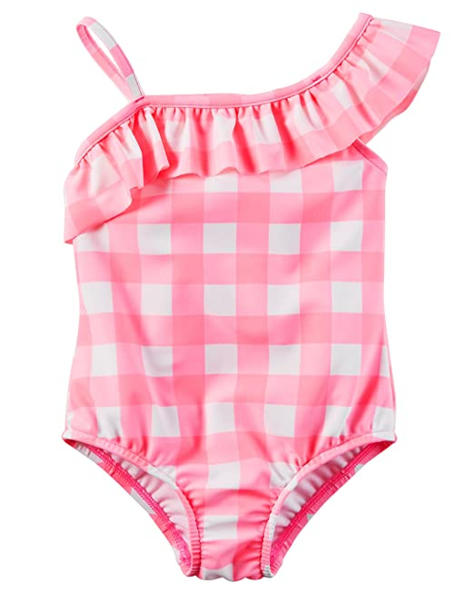 22b610f26 Amazon.com: Carter's Toddler Girls' One Piece Swimsuit: Clothing