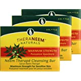 Organix South Maximum Strength Neem Soap Bar 4 oz - Three (3) bars