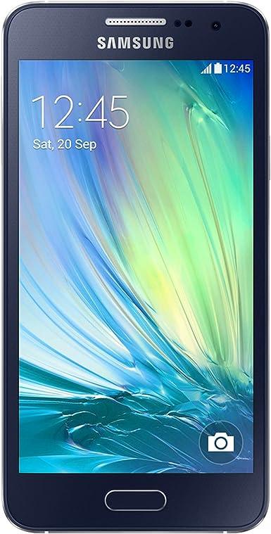 Samsung Galaxy A3 A300M 16 GB desbloqueado GSM 4G LTE Quad-Core Smartphone - Negro: Amazon.es: Electrónica