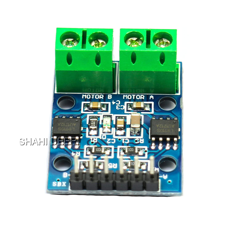 Shahideer L9110S Dual Channel h-bridge stepper Motor Dual DC motor driver controller Board per Arduino DIY 1PCS