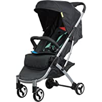 Safety 1st Nook Compact Lightweight Newborn 4 Wheel Stroller, Lets Play