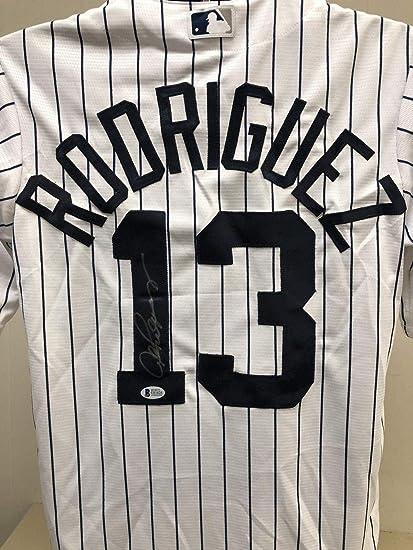 Autographed Alex Rodriguez Jersey - Bas Beckett 3 000 Hit - Beckett ... 7575ac2805f