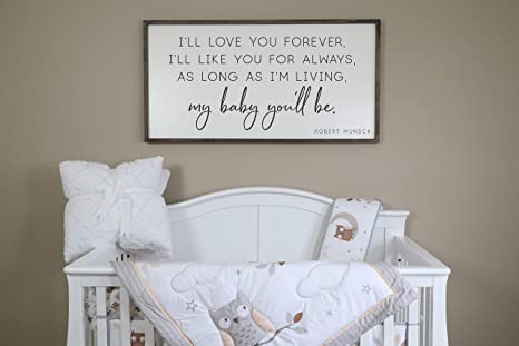 Flowershave357 Little Boys Should Never Be Sent to Bed Sign Boys Nursery Sign Nursery Decor Wood Sign