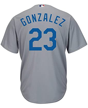 a380b1d51c5 ... discount outerstuff adrian gonzalez los angeles dodgers gray toddler cool  base road replica jersey toddler 2t
