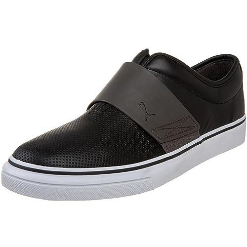 213f063b4 Puma Men s EL Rey Cross Perf Leather Slip-On Sneaker