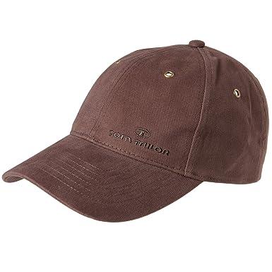 90803fc836 Tom Tailor Herren Basecap Mütze 6-Panel-Cap Base Cap Kappe einfarbig ...