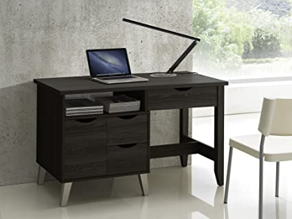 amazon com baxton studio mckenzie modern contemporary wood 3 drawer