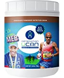UCAN SuperStarch Mebnificent Protein Drink Mix Tub, Chocolate, No Added Sugar, Gluten-Free, 26.5 Ounces, 25 Servings