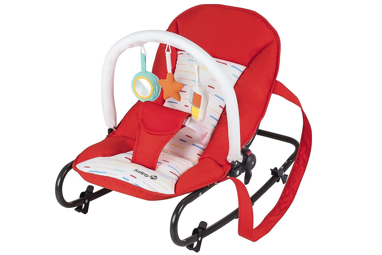 Safety 1st Koala - Gandulita reclinable para bebé, modo fijo o balancín, color Grey Patches Dorel 28229490