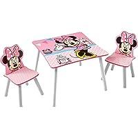 Minnie Mouse Conjunto de Mesa y Dos sillas
