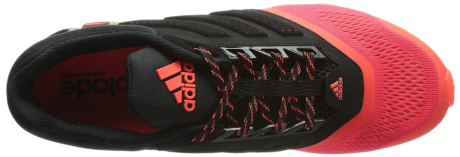 dc2a3a88cde77 ... discount adidas mens springblade drive 2 m core black solar red and  silver metallic mesh running