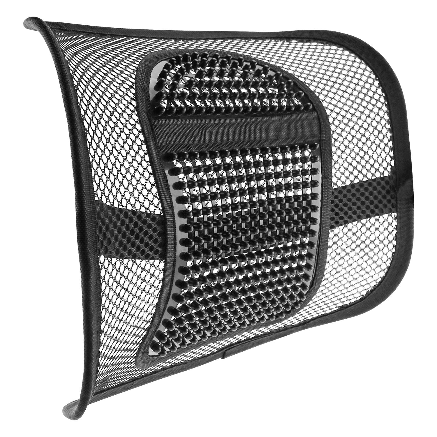 ACVCY Lumbar Mesh Support for Office Chair or Car Seat,Breathable Comfortable Back Support for Office Chair Lumbar Support Cushion for All Types Car Seats Office Chair 12'' x 16'' by ACVCY