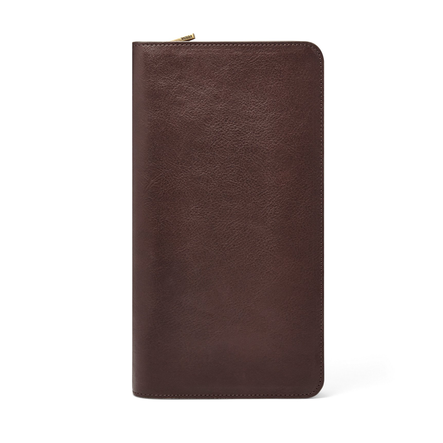 Fossil Multi Passport Case Brown MLG0334201