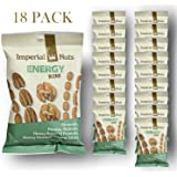 Imperial Nuts Energy Blend Snack Packs - (2.75oz x 18 Bags) (Net Weight 49.5oz) Featuring Almonds, Pecans, Walnuts, H/R Peanuts & H/R Sesame Sticks