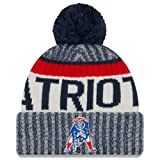 Amazon Price History for:New England Patriots New Era 2017 NFL Official Sideline Sport Knit Hat - Classic