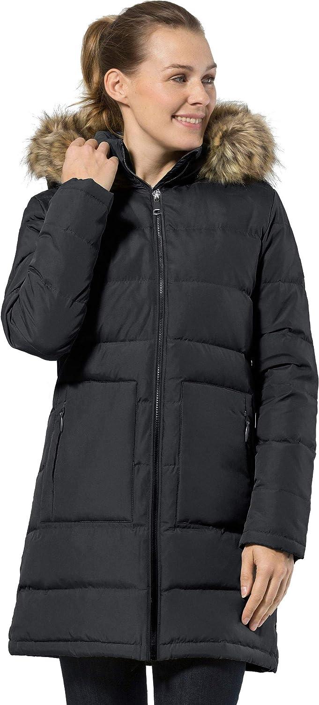 NUTEXROL Womens Parka Thickened Winter Coat Zipper Stylish Overwear Jacket