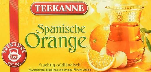 Teekanne Spanische Orange, 3er Pack (3 x 20 Teebeutel): Amazon.de ...