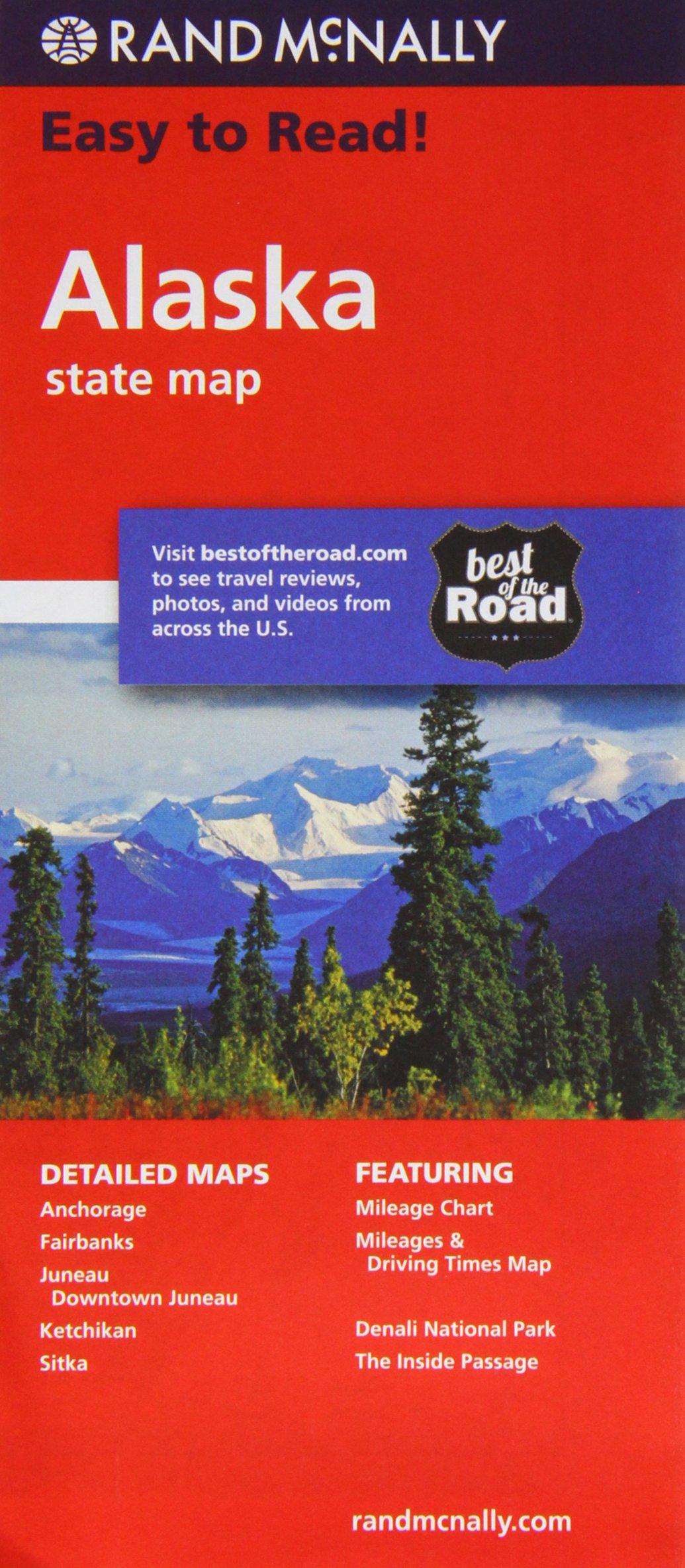 Rand Mcnally Easy Alaska State