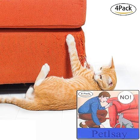 Rasguño de Gato Protectores de Muebles(4 Piezas, 46cm x 14cm), Protector