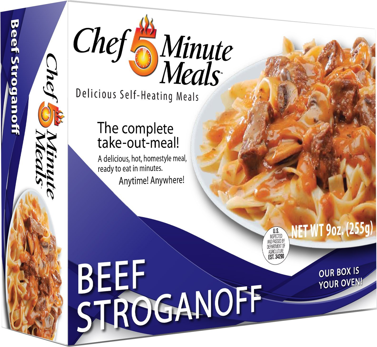 Chef 5 Minute Meals Beef Stroganoff with Noodles