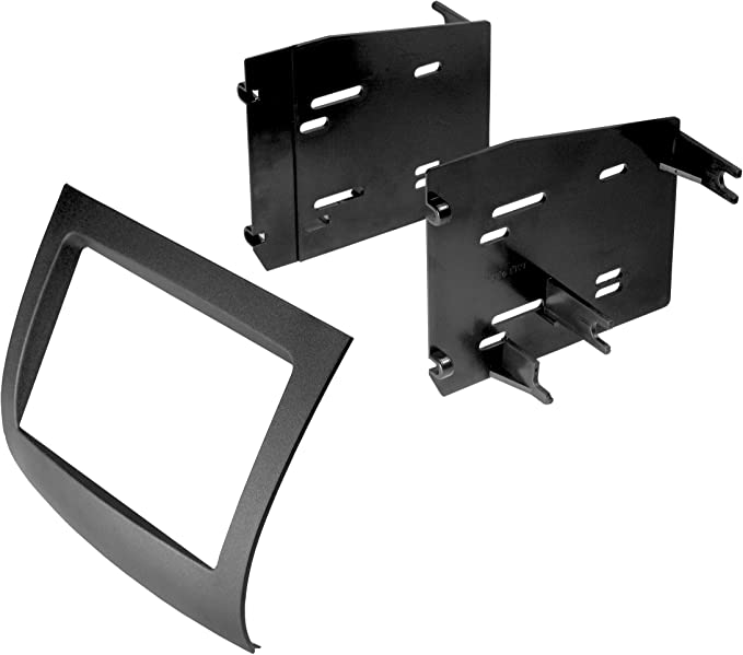 Black Metra 95-8208 Double DIN Installation Kit for 2004-2007 Toyota Sienna Vehicles