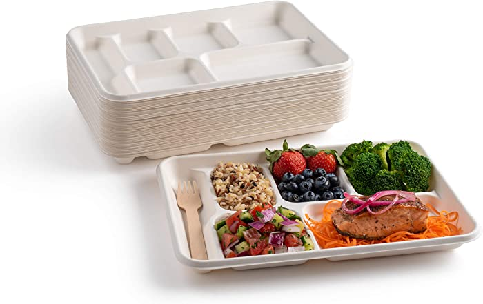 Top 10 Paper Restaurant Food Containers With Divided Sections