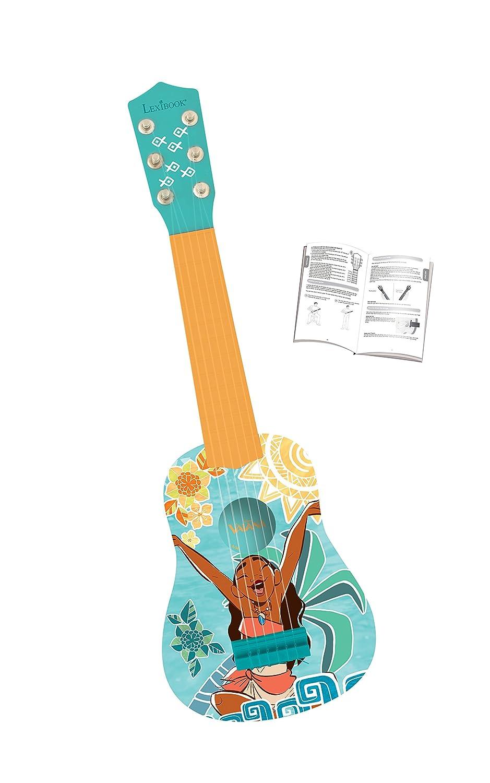 Vaiana - Primera Guitarra 6 Cuerdas (Lexibook K200VN): Amazon.es: Juguetes y juegos