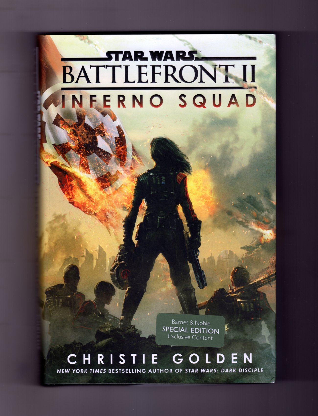 Star Wars Battlefront Ii Inferno Squad Special Edition Exclusive Content First Edition First Printing Amazon Co Uk 9781524797348 Books