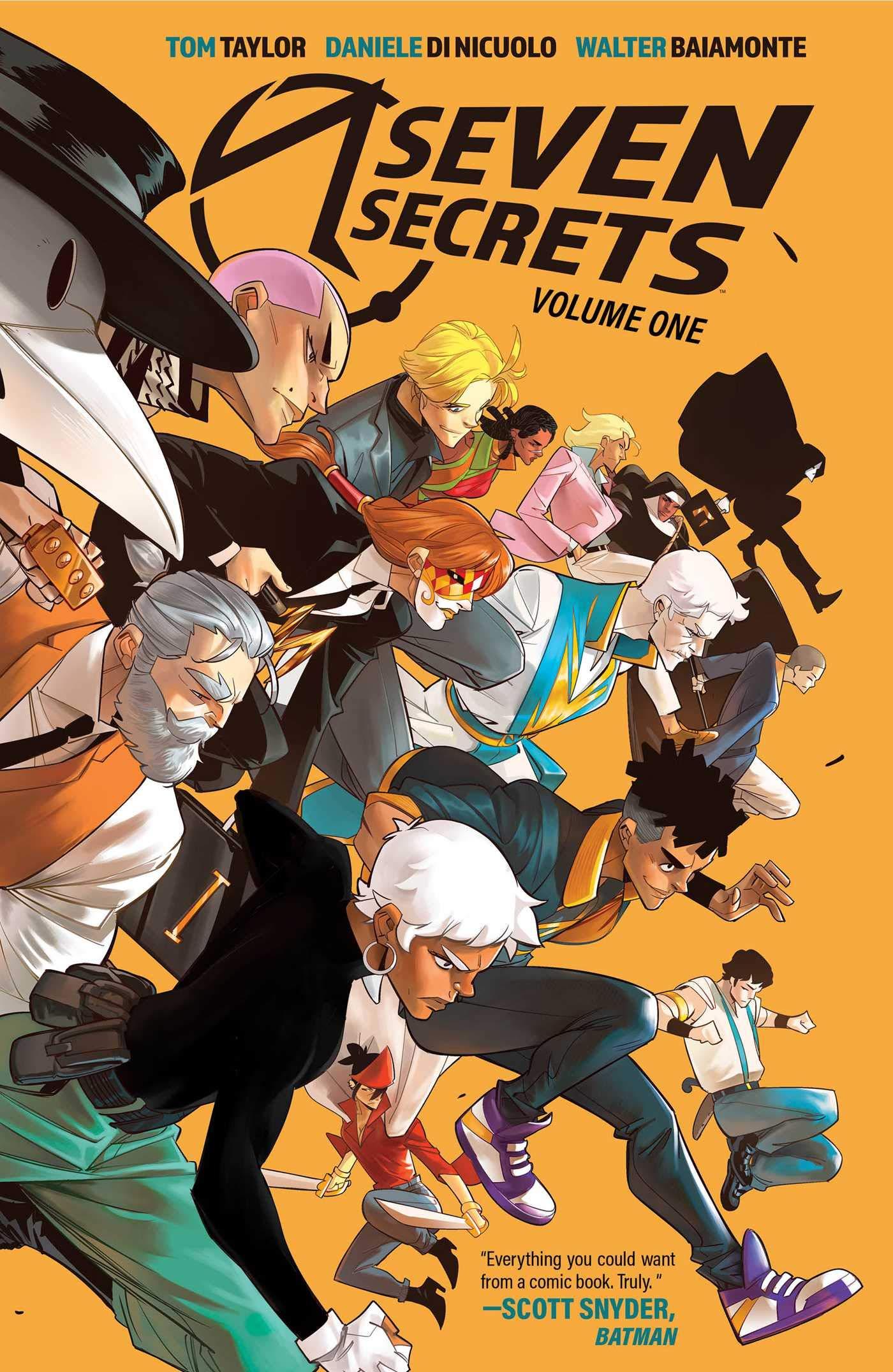 Amazon.fr - Seven Secrets 1 - Taylor, Tom, Di Nicuolo, Daniele - Livres