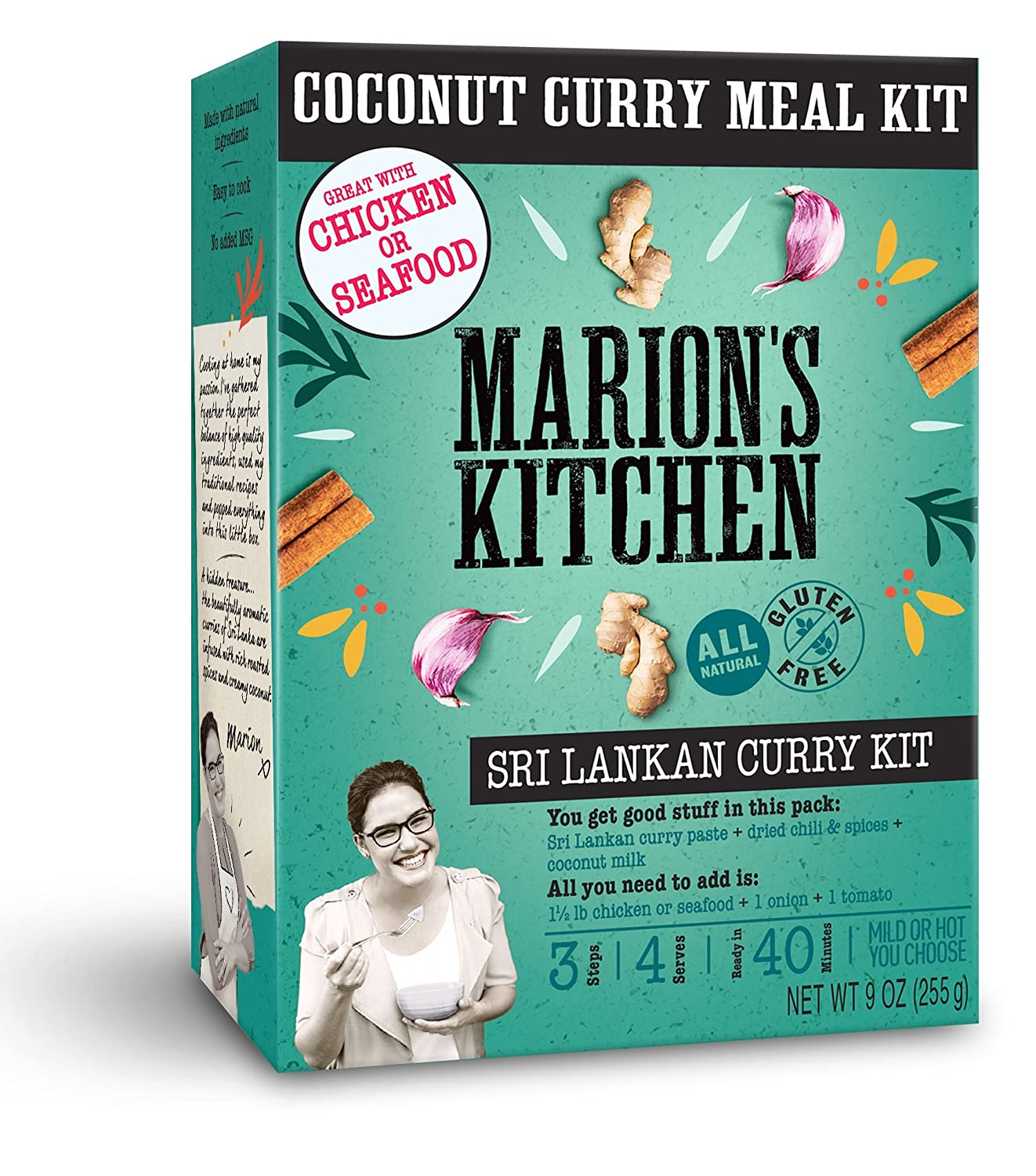 Amazon.com : Sri Lankan Coconut Curry Meal Kit by Marion\'s Kitchen ...