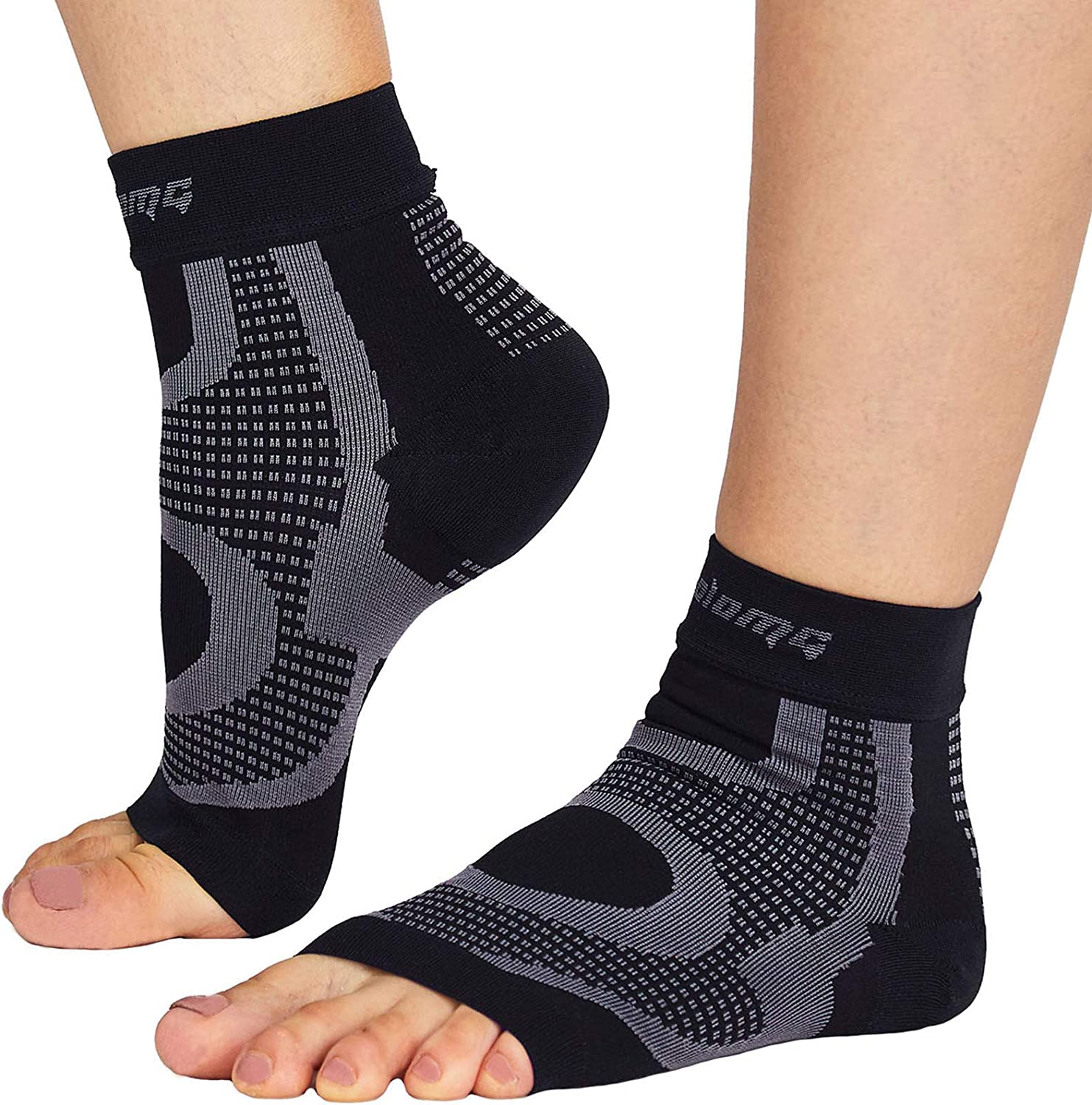 Ankle Brace Compression Support Sleeve for Basketball Running volleyball Sport,Breathable Ankle Support for Injury Recovery,Joint Pain,Swelling and Achilles Tendon Sprains Medium