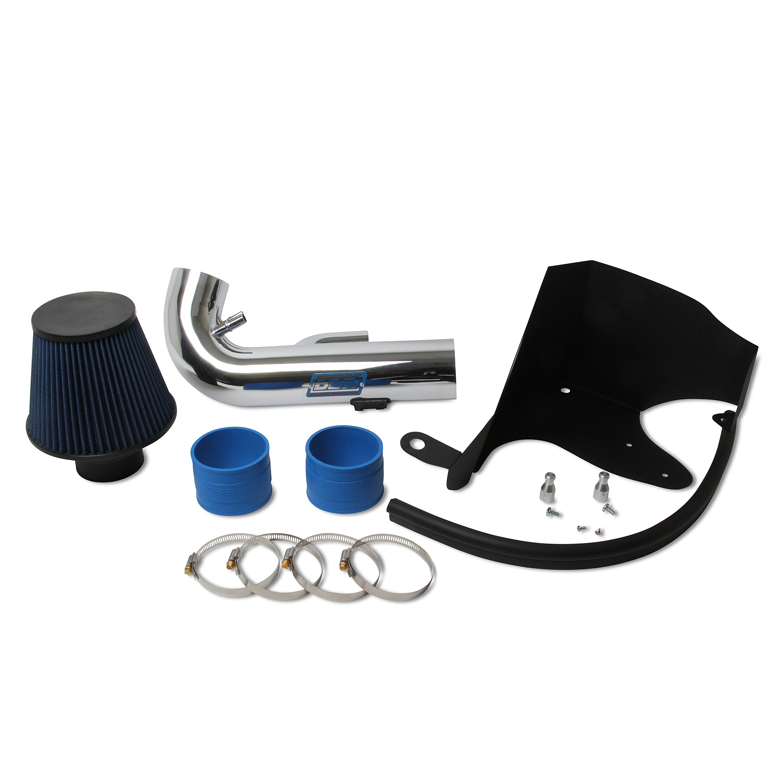 BBK 1768 Cold Air Intake System - Power Plus Series Performance Kit for Mustang GT 5.0L - Chrome Finish by BBK Performance (Image #2)