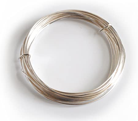 silver plated copper wire 0.8mm x 6m