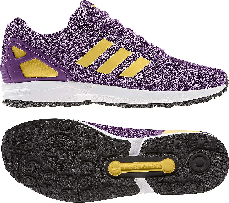 Obtenga La Última Moda Rápido Expreso Diseñador adidas ZX Flux, Zapatillas para Hombre Glory Purple Spring Yellow Ftwr White RSq8gr b7I2nX 2ECORv
