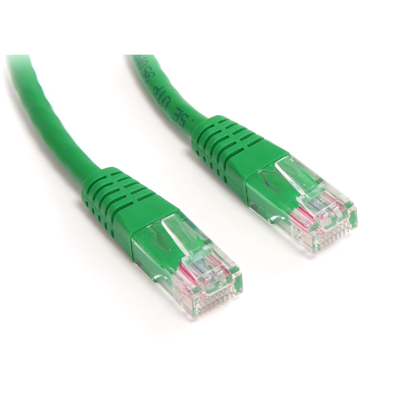 Blue Patch Cable Ethernet Cord StarTech.com Cat5e Ethernet Cable 30ft Long Network Cable 30 ft Molded Cat5e Cable Cat 5e Cable