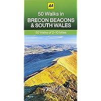 50 Walks in Brecon Beacons & South Wales (AA 50 Walks series)